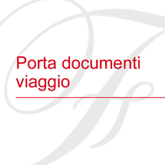 Porta documenti viaggio